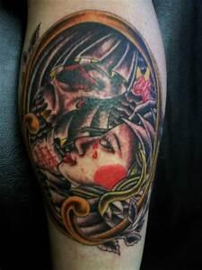 Tattoo Leben Und Tod : haubert leben und tod tattoos von tattoo ~ Frokenaadalensverden.com Haus und Dekorationen