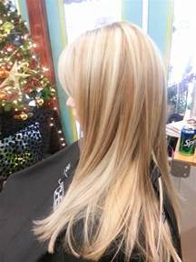 Platinum Blonde Hair Color with Lowlights