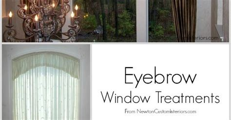eyebrow window treatments window treatments beautiful