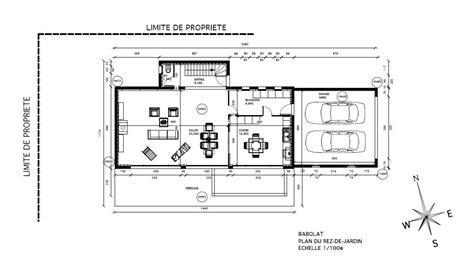 plans maison contemporaine plans construction maison