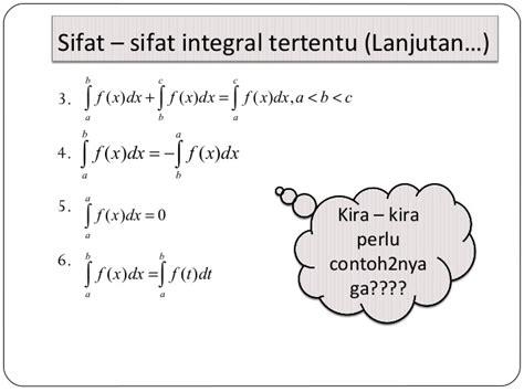 contoh soal integral tak tentu  penyelesaiannya guru