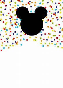 Wedding Video Templates Mickey Mouse Free Printable Invitation Templates