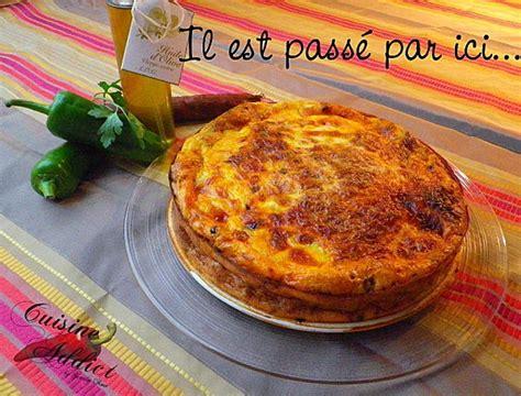 cuisine portugaise recettes quiche sans pâte au chorizo poivrons et tomates séchées
