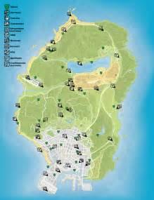 GTA 5 Spaceship Parts Location Map
