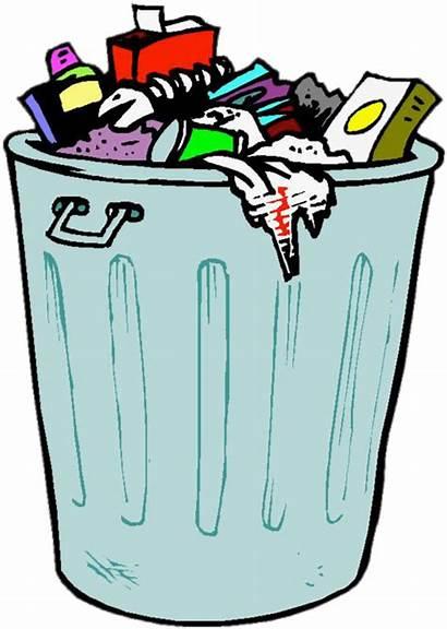 Smell Transparent Bad Clipart Bin Recycling Cartoon