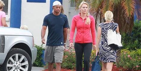 Tiger Woods & Lindsey Vonn Take Tots To School