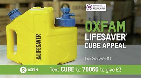 oxfam launches integrated drtv campaign   lifesaver