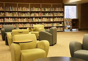 Library, Listens, Study, Space, Expands