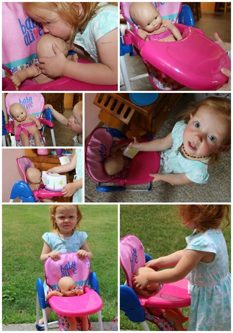 baby alive stroller high chair for the littlest