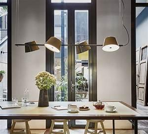 Plafonnier Salle à Manger : plafonnier lustre ou suspension il faut choisir ~ Teatrodelosmanantiales.com Idées de Décoration