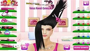 Glam Hair Salon Game Games For Girls YouTube