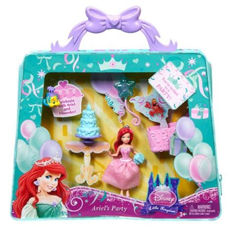 disney princess  kingdom magiclip ariel party bag toys games
