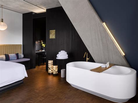 rooms suites  nobu hotel shoreditch design hotels