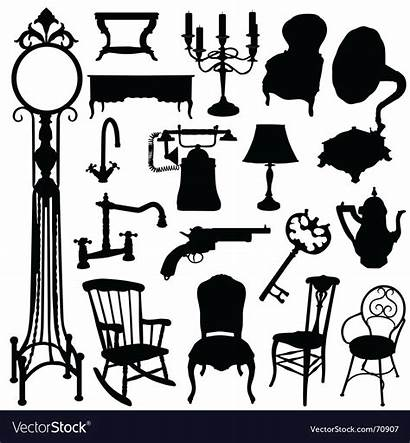 Vector Objects Antique Royalty Vectorstock