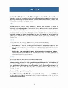 28 international sale contract template free With international trade contract template