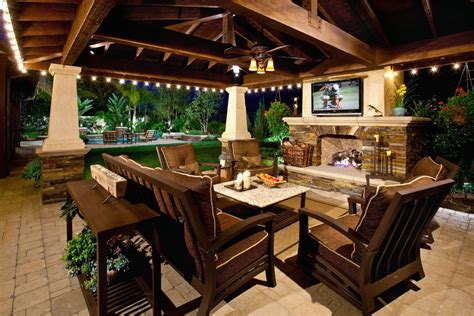 transitional kitchen ideas brown stain patio mediterranean with stacked