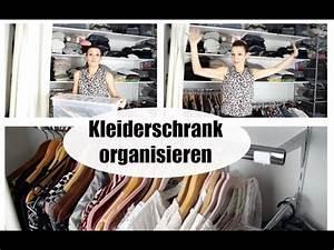 Ordnung Im Kleiderschrank : kleiderschrank organisieren ordnung halten platz sparen begehbaren kleiderschrank faken ~ Frokenaadalensverden.com Haus und Dekorationen
