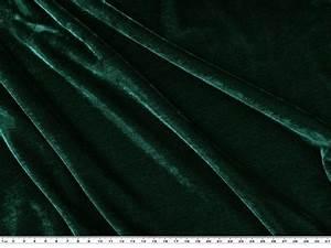 Rideaux Vert Sapin : velours stretch uni vert sapin 150cm 1719 15 tissu et mercerie tissus home ~ Teatrodelosmanantiales.com Idées de Décoration
