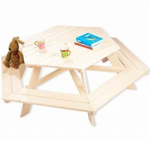 Table De Jardin Enfant : table enfant picnic 6 places pinolino acheter sur ~ Teatrodelosmanantiales.com Idées de Décoration
