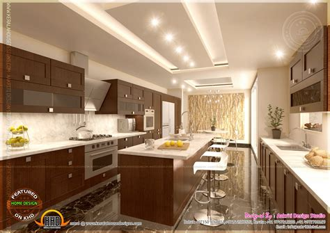 Home Design Kitchen by Kitchen Designs By Aakriti Design Studio Kerala Home