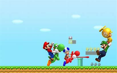 Mario Super Bros Backgrounds Pixelstalk