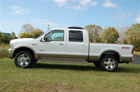 find   ford  king ranch crew cab  fx