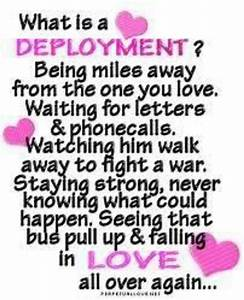 Quotes About Lo... First Deployment Quotes