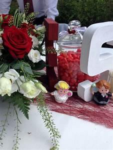 Décoration Mariage Rouge Et Blanc : d co mariage rouge et blanc le monde de nadoo ~ Melissatoandfro.com Idées de Décoration