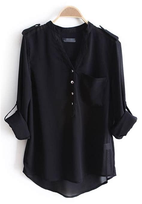 chiffon blouses black chiffon blouses black blouse