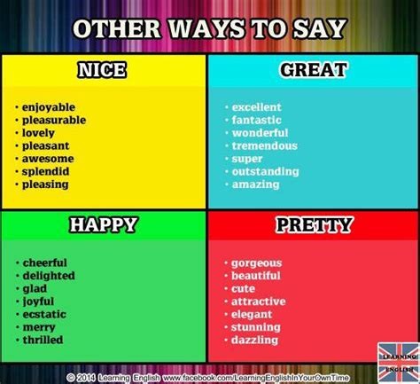 My Weblog Other Ways To Say It