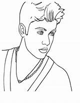 Bieber Justin Coloring Singer Pages Pop Famous Canadian Celebrities Singers Drawing Cool Prince Country Printable Drawings Sheets Waverly Place Getdrawings sketch template
