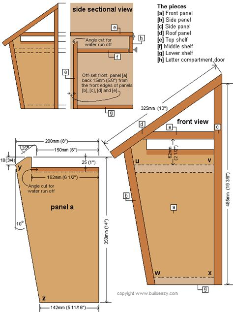 Cabinet Hardware Placement Standards by Wooden Mailbox Post Designs Woodproject