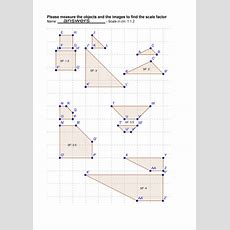 Enlargement With A Positive Scale Factor By Rhiannonwates  Teaching Resources Tes