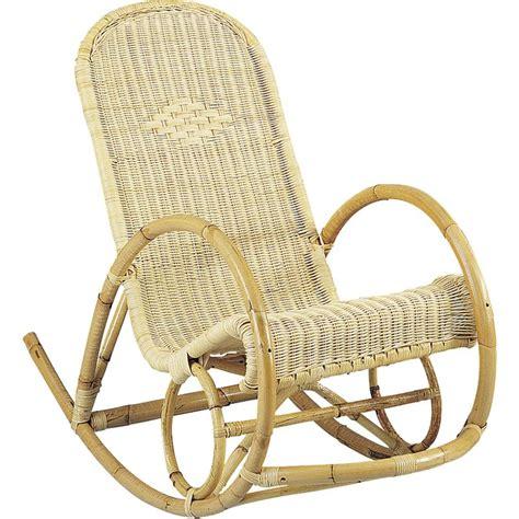rocking chair en rotin rocking chair en rotin mro1030 aubry gaspard