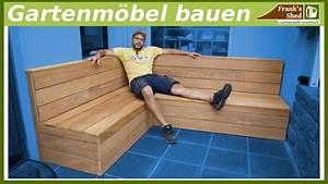 Gartenmöbel Selber Bauen Lounge : gartenm bel aus holz bauen sitzbank f r terrasse selber bauen diy youtube ~ A.2002-acura-tl-radio.info Haus und Dekorationen