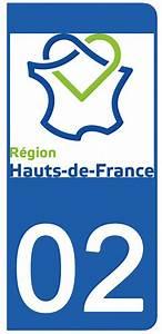 Plaque Immatriculation France : 2 stickers pour plaque d 39 immatriculation 02 aisne tout les stickers pour plaques d ~ Medecine-chirurgie-esthetiques.com Avis de Voitures