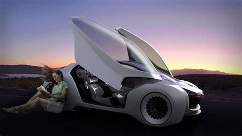 volkswagen trimaran concept previews  autonomous