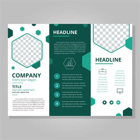 modern tri fold brochure template   vectors
