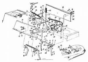 Mtd 13am665g301  1999  Parts Diagram For Deck Lift And