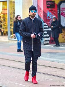 Casual Menu0026#39;s Outfits with Red Sneakers and Mirrored Sunglasses u2013 Fashion Trends and Street Style ...