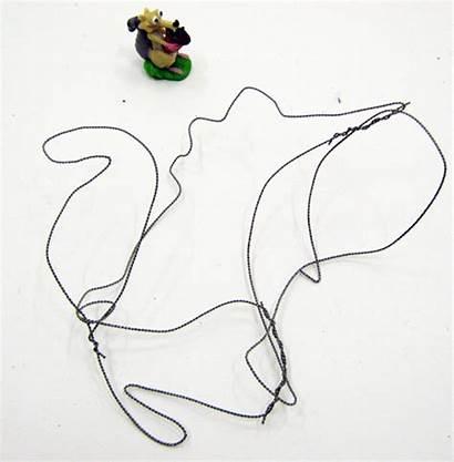 Wire Drawing Squirrel Calder Sketching Backwards Forwards