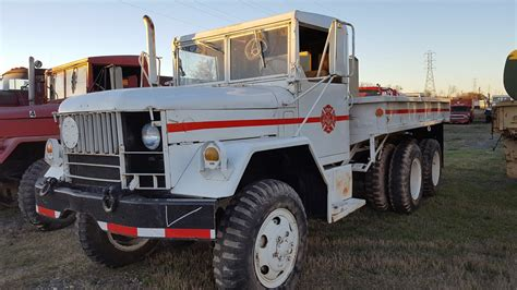 jeep fire truck for sale no174 m35a2 kaiser jeep kirvin