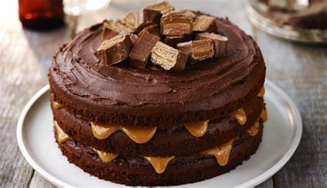 tall dark  stout chocolate layer cake baking recipes