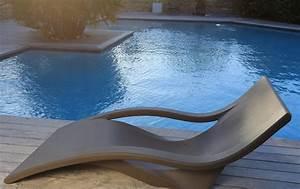 Chaise Longue Piscine : mobilier id es piscine ~ Preciouscoupons.com Idées de Décoration