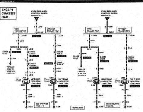 1995 Ford Trailer Wiring Diagram by My 1995 F 350 Brake Lights Dont Work The Top Window Brake