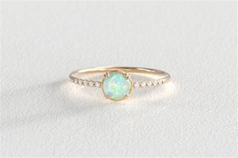 opal and engagement rings 16 opal engagement rings you ll fall in with brit co