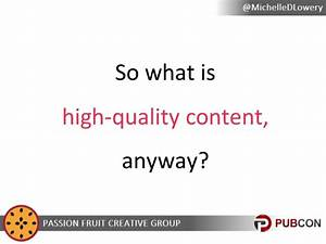 What is High-Quality Content, Anyway? PubCon Austin 2014