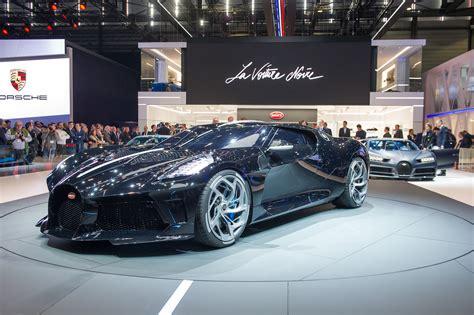 Bugatti develops unique hyper sports car for a bugatti enthusiast. Geneva 2019: Bugatti La Voiture Noire is the most expensive new car ever