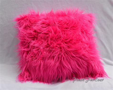 Faux Fur Pillows Wayfair Keller Mongolian Throw Pillow
