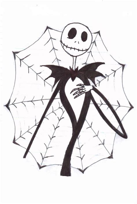 jack skeleton coloring pages coloring home